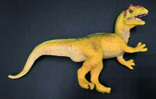 "Vintage Crested Allosaurus Safari Ltd / Carnegie 1996 Pvc 4"" tall Yellow"