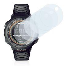 Suunto Vector Xblack Smart Watch, 6x Transparent ULTRA Clear Screen Protector