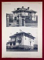 Cannes 1920 Villa Grand Rubrent Architecte Warnery Côte d'Azur Alpes Maritime