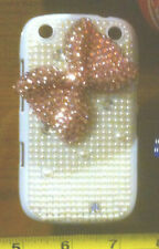 Claire's Claires Accessories Pink Bow Gem Blackberry 9320 Phone Cover £14 RRP