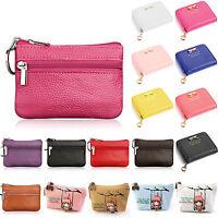Womens Small Mini Wallet Coin Purse Key Card Holder Bags Zip Clutch Handbag Bag