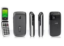 New Condition  Doro PhoneEasy 612 Black Unlocked Flip Mobile Phone - 6M Warranty