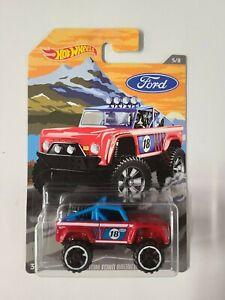 # 944 lot of (1)  Hot Wheels  Custom Ford Bronco  ships/box/bubble