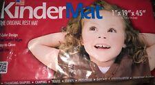 KinderMats 1 Inch Basic Nap Mat Two Color Tri-Fold 1 x 19 x 45
