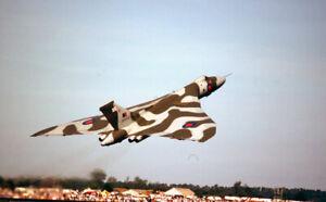 original 35mm Aircraft slide  XH558 Vulcan June 1989