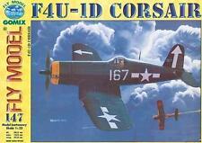 Gomix fly 147-avión de combate oportunidad Vought f4u-1d Corsair Bunker Hill 1:33