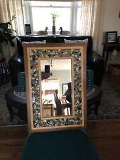 mosaic style artisian mirror By James Kirk