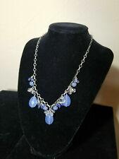 Silpada N1242 Sterling Silver Blue Quartz Crystal Sodalite Necklace