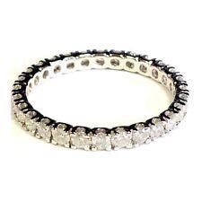 Wedding Good Cut Round White Gold Fine Diamond Rings