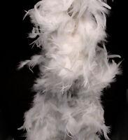 White Feather Boa (6', 60 grams)