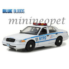 GREENLIGHT 13513 BLUE BLOODS JAMIE REAGAN'S 2001 FORD VICTORIA POLICE NYPD 1/18