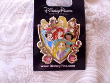 Disney * PRINCESS GROUP ON SHIELD - 8 PRINCESSES * New on...