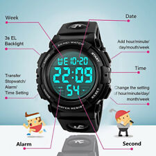 SKMEI Boys Girls Child Kids Waterproof Multifunction Sports Digital Wrist Watch