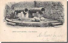 Cpa-50 - mont saint michel-les michelettes