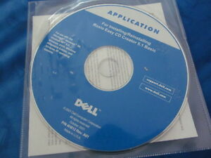 Dell APPLICATION For INSTALLING/ Reinstalling Roxio Easy CD Creator 5.1 Basic-GC