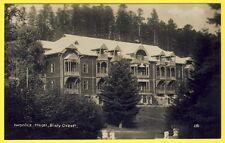 """cpa POLAND POLOGNE IWONICZ HOTEL """"BIALY ORZEL"""" Sanatorium"""