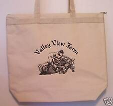 NEW Personalized Hunter Jumper Horse Tote Bag Purse