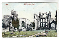 Elgin Cathedral - Photo Postcard 1908