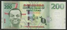 Swaziland P-New 200 Emalangeni 2010 Unc
