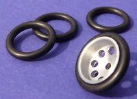 4-STÜCK Slotcar Reifen VORNE für Felgen mit ø 14 bis 15 mm    88030-4