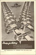 1943 WW2  AD  BEECHCRAFT Aircraft AT-11 Bomber Training Planes  082917