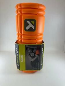 "Trigger Point The Grid Foam Roller - Orange 13"" NEW"