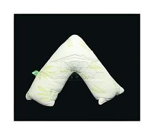 BAMBOO Back Neck Nursing Support Orthopedic Pregnency V- Shaped Pillow Maternity