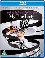MY FAIR LADY [Blu-ray] (1964) Audrey Hepburn, Rex Harrison Musical Classic Movie
