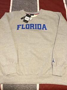 Jordan Jumpman Nike XXL Florida Gators Pullover Crew Sweatshirt NEW $80 CW9815