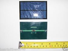 4V 150 mA. Mini Solar Panel   epoxy encapsulated virtually indestructible .6watt