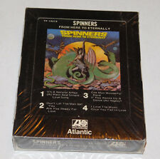 New listing Vintage Sealed Never Played Atlantic Spinners Here To Eternally 8 Track Tape