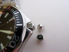 Nuevo OMEGA Seamaster 300 M Profesional atornillar Corona/Bobina botón Bond Etc