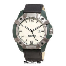 NEW TIMBERLAND WATCH for MEN * Date * Green with Black Strap 13326JPGNU/13 $159