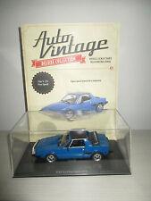 FIAT X1/9 FIVE SPEED 1979 CON FASCICOLO AUTO VINTAGE SCALA 1:24
