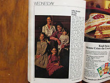 Sept 7-1974 FALL PREVIEW TV Guide(LITTLE HOUSE ON THE PRAIRIE/RHODA/POLICE WOMAN