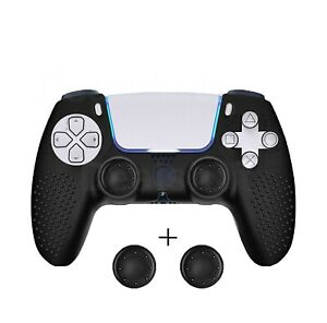 Silicone Gel Rubber Case Skin STUDDED Cover for PlayStation 5 PS5* Controller UK