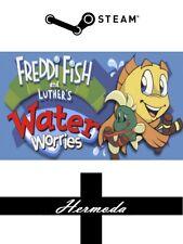 Freddi pesce e di Lutero ACQUA preoccupazioni a vapore-Chiave per PC, Mac o Linux