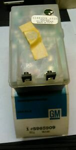 CADILLAC 73 -76 NOS TWILIGHT SENTINEL photo  cell and amplifier  Buick and olds