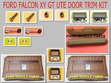 FORD FALCON XY GT GS SADDLE  DOOR TRIM INTERIOR  KIT FOR UTE