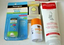 Lot of 4 items Mustela Stretch Marks Prevention Cream 8.45 & Baby Sunscreen etc