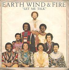 """45 TOURS / 7"""" SINGLE--EARTH WIND & FIRE--LET ME TALK / INSTRUMENTAL--1980"""