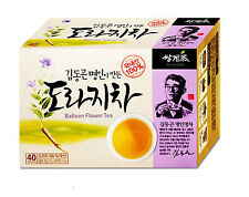 100% Natural Organic Balloon Flower Bellflower Root Tea 30 Tea bags  Ssanggye