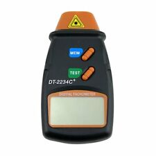 Digital LCD Laser Tachometer Handheld RPM REV Counter Motor tachometer Non-conta