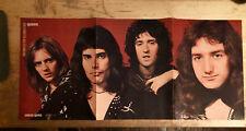 Queen + Greg Allman Circus Magazine 1974 Freddie Mercury Stunning Exc *