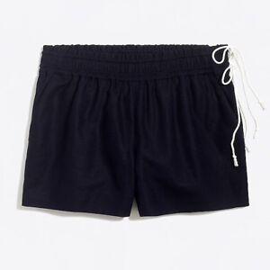 "NWT J Crew 3&1/2"" Pull On Shorts Size XXS Navy Blue"