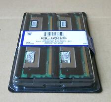 2 x Kingston KTH-XW667/2G Dual Specific Memory 1GB 2Rx8 PC2-5300F DDR2 System