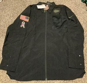 Kansas City Chiefs Nike STS Salute To Service Jacket Shirt Men's Size: XL NWT