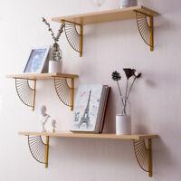 Floating Display Shelf Wall Storage Rack Holder Sundries Wall Mounted Shelves