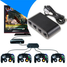 GameCube Controller Adapter for Nintendo Wii U Super Smash Bros