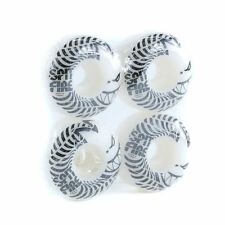 Spitfire Wheels Low Downs Skateboard Wheels White 99DU 54mm New Free Delivery